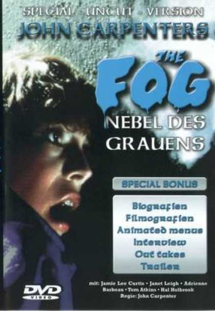 German DVDs - The Fog Special Uncut Version