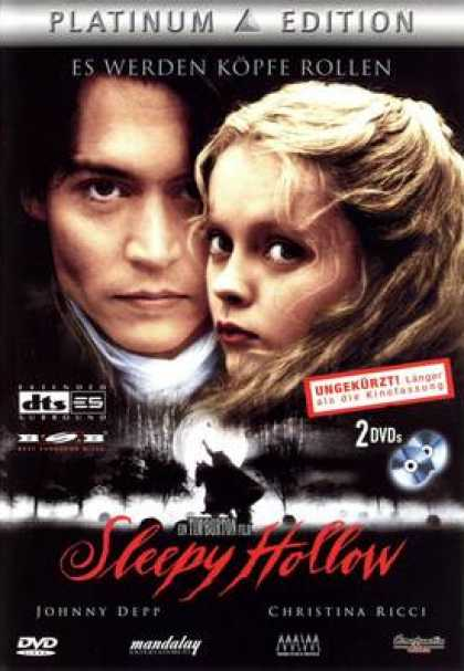 German DVDs - Sleepy Hollow (1999) GERMAN3 PE