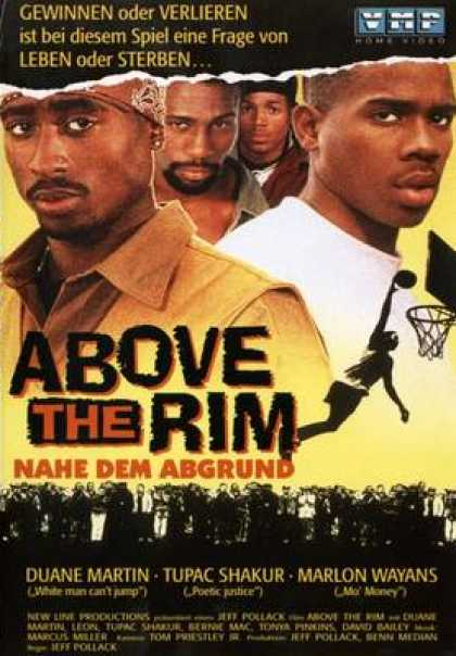 German DVDs - Above The Rim