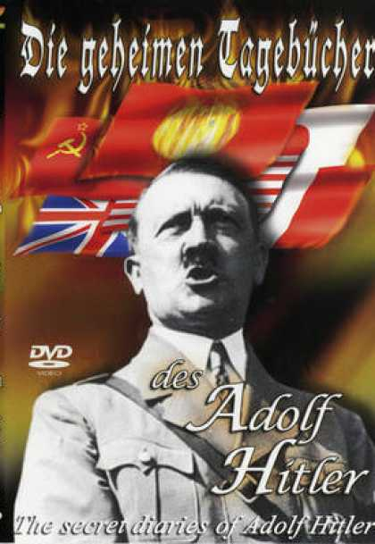 German DVDs - Adolf Hitler The Secret Diaries