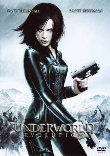 German DVDs - Underworld Evolution