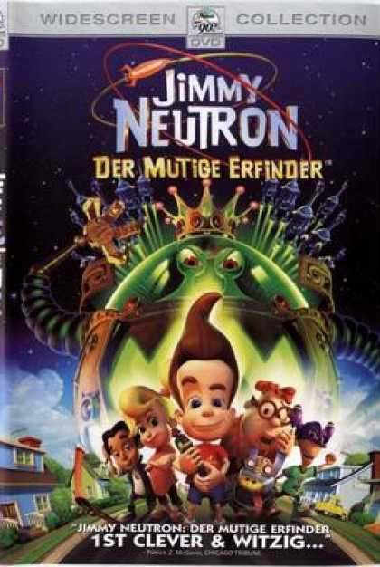 German DVDs - Jimmy Neutron Boy Genius