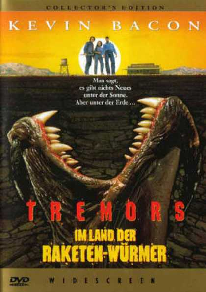 German DVDs - Tremors