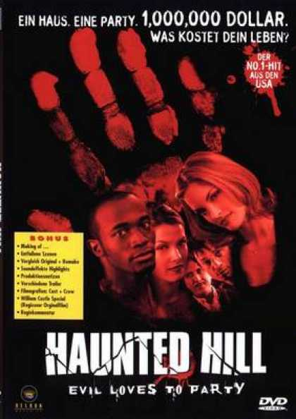 German DVDs - House On Haunted Hill