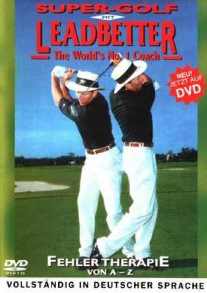 German DVDs - Super Golf With Leadbetter Volume 3