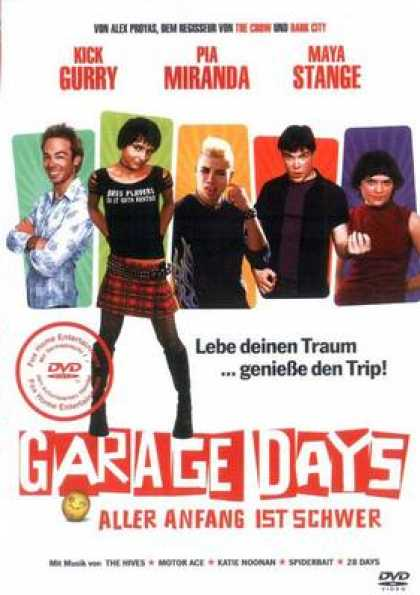 German DVDs - Garage Days