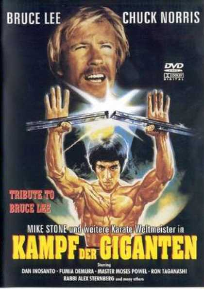 German DVDs - Clash Of The Giants
