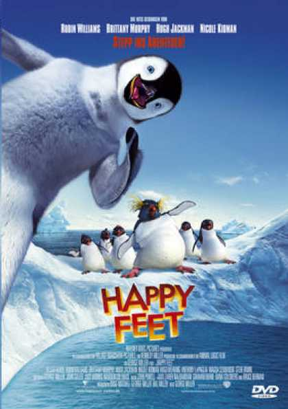 German DVDs - Happy Feet (2006) GERMAN1