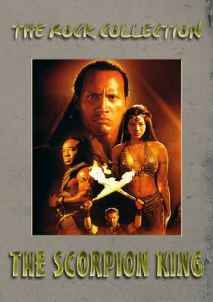 German DVDs - The Scorpion King