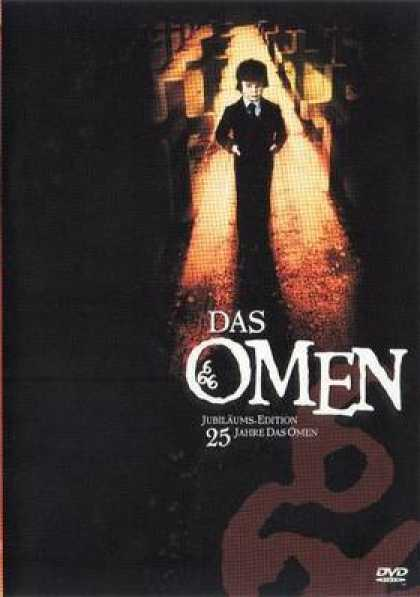 German DVDs - The Omen 25th Anniversary