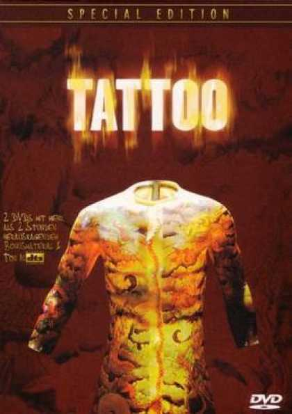 German DVDs - Tatoo Special
