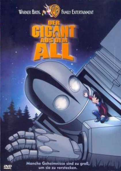 German DVDs - The Iron Giant
