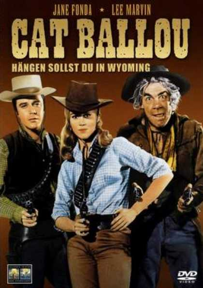 German DVDs - Cat Ballou