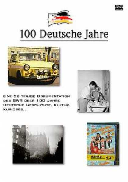 German DVDs - 100 Years Of German History Volume 1
