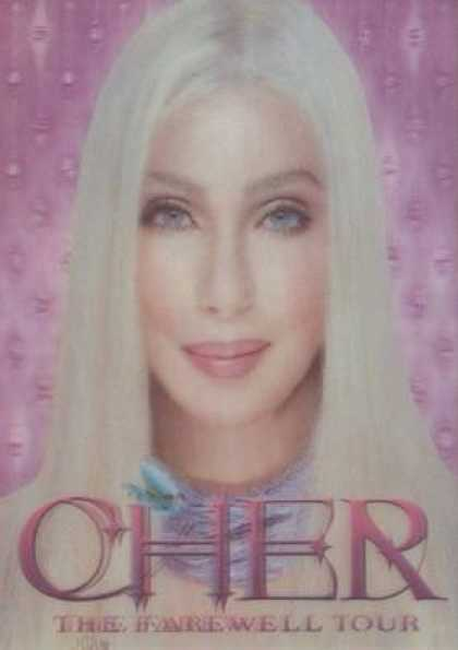 German DVDs - Cher The Farewell Tour