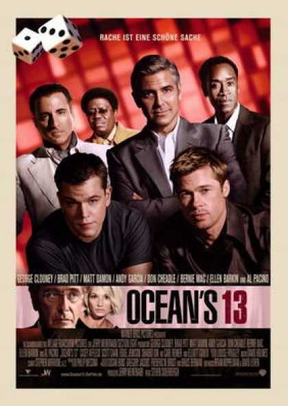 German DVDs - Ocean's 13