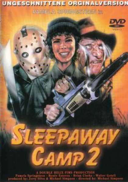 German DVDs - Sleepaway Camp 2