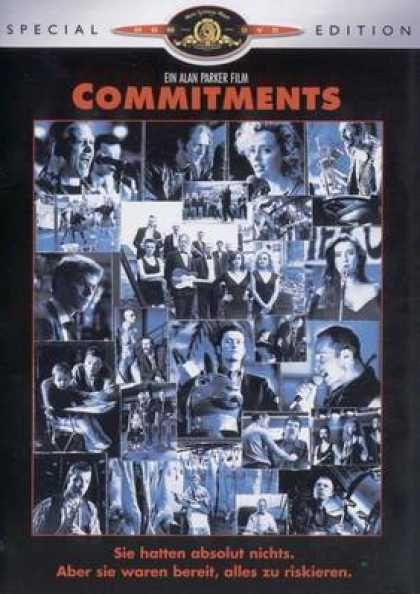German DVDs - The Commitments
