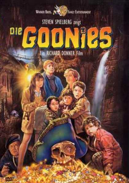 German DVDs - The Goonies