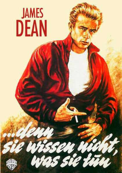 German DVDs - Rebel Without A Cause
