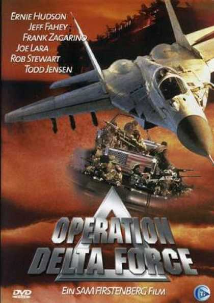 German DVDs - Operation Delta Force