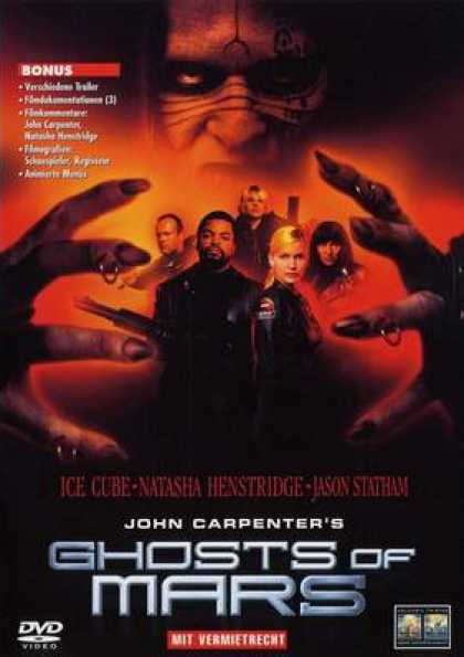 German DVDs - Ghosts Of Mars