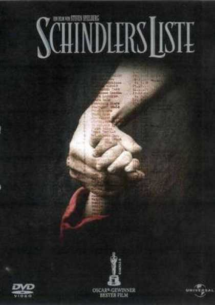 German DVDs - Schindler's Liste