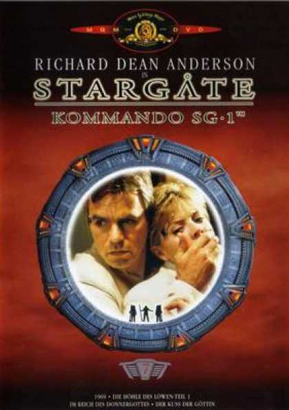German DVDs - Stargate Commando Sg 1 Vol.7