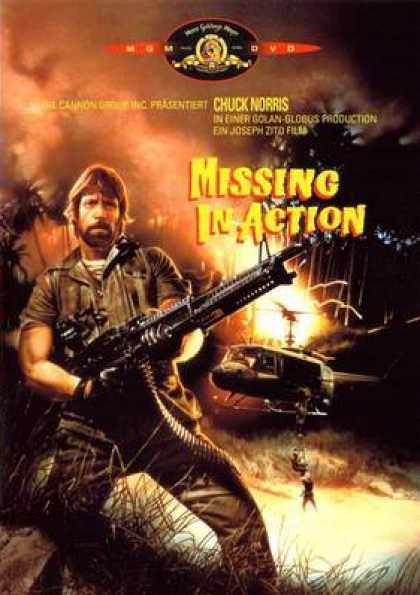 German DVDs - Missing In Action