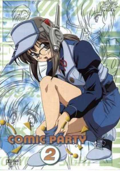 German DVDs - Comic Party 2
