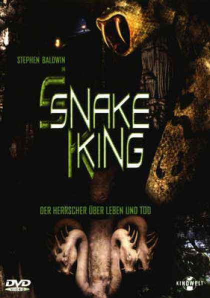 German DVDs - Snake King