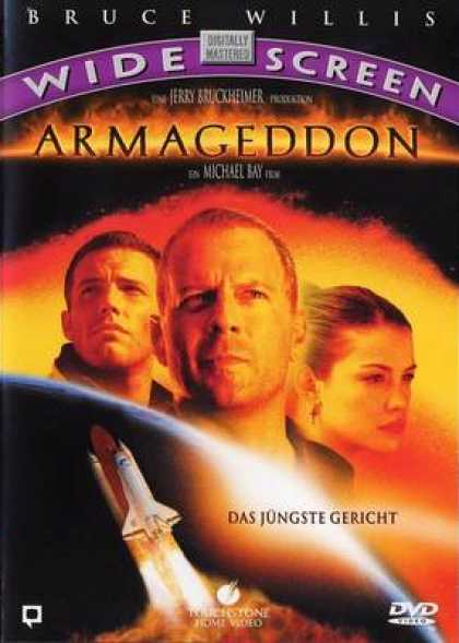 German DVDs - Armageddon