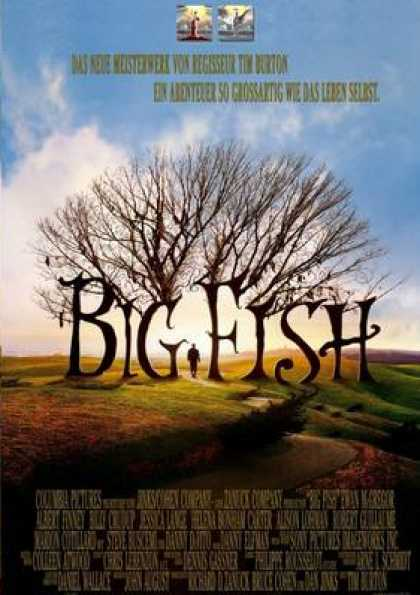 German DVDs - Big Fish