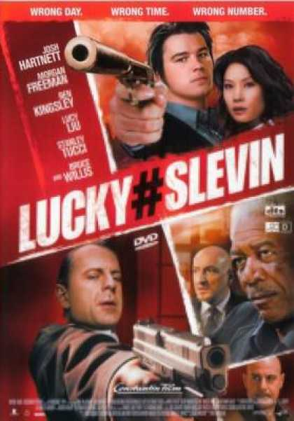 German DVDs - Lucky Number Slevin