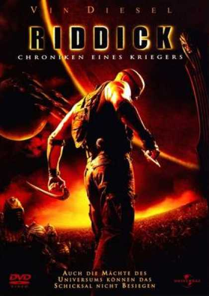 German DVDs - The Chronicles Of Riddick