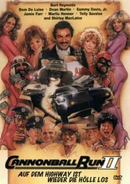 German DVDs - The Cannonball Run 2