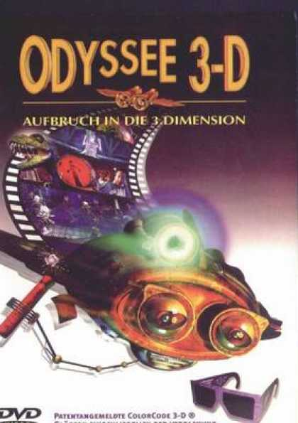 German DVDs - Odyssee 3d