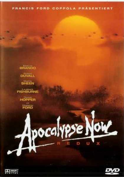 German DVDs - Apocalyse Now Redux
