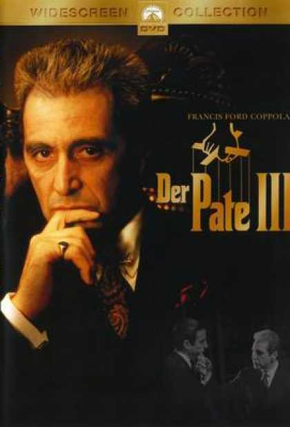 German DVDs - The Godfather 3 Widescreen Collection