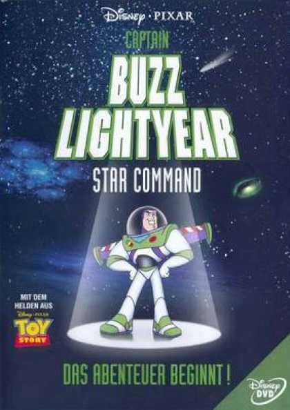 German DVDs - Captain Buzz Lightyear Star Command