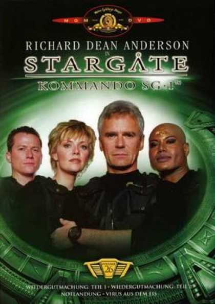 German DVDs - Stargate Commando Sg 1 Vol.26