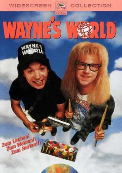German DVDs - Wayne's World