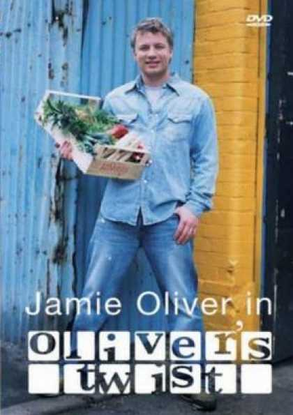 German DVDs - Jamie Oliver - Oliver's Twist