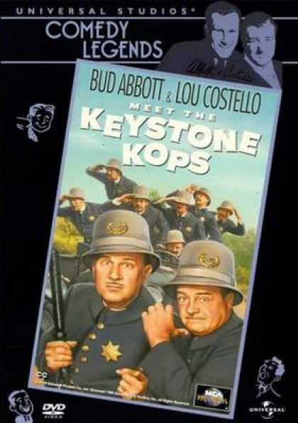 German DVDs - Abbott And Costello Meet The Keystone Cops