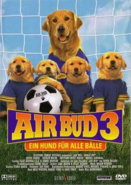 German DVDs - Air Bud 3