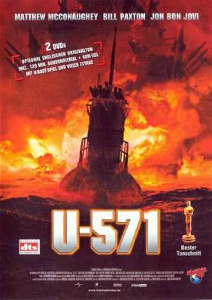 German DVDs - U-571
