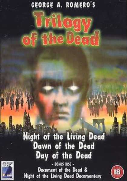 German DVDs - Trilogy Of The Dead: Bonus