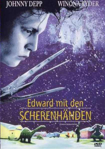 German DVDs - Edward Scissorhands
