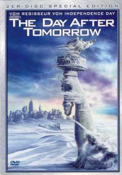 German DVDs - The Day After Tomorrow Special
