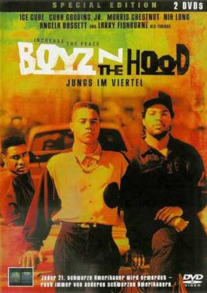 German DVDs - Boyz N The Hood